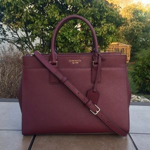 NWT Kate Spade Large Satchel Cameron